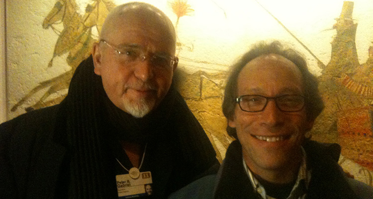 Lawrence Krauss and Peter Gabriel