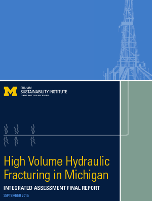 High volume hydraulic fracturing in Michigan cover