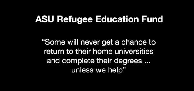 ASU Refugee Education Fund