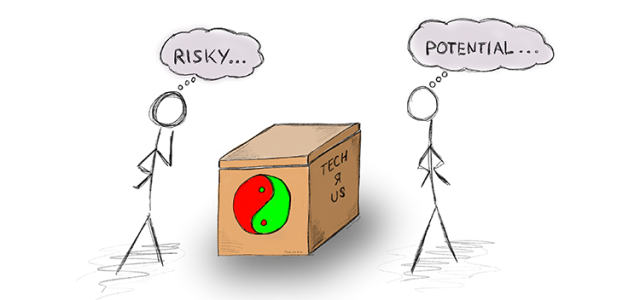 What if we approach risk like entrepreneurs approach innovation